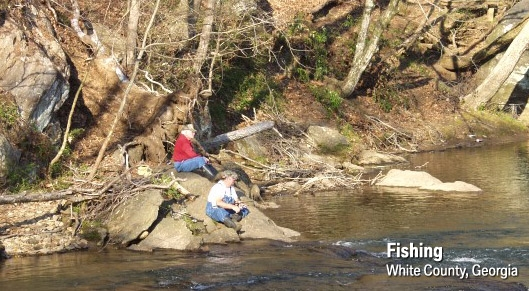 Fishing in White County