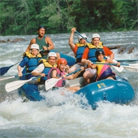 Rafting on the Ocoee River - Ocoee TN