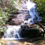 Angel Falls and Panther Falls - Waterfalls in Rabun County