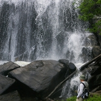 Turtleback Falls and Rainbow Falls