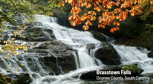 Brasstown Falls - Long Creek SC